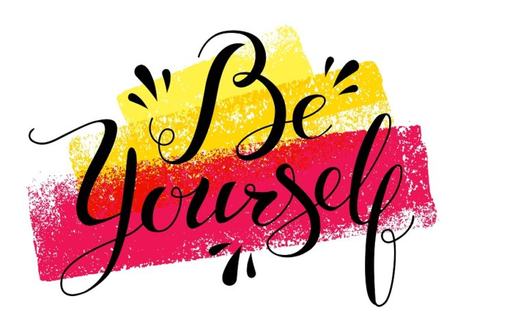 Be your authentic self and you'll have no competition